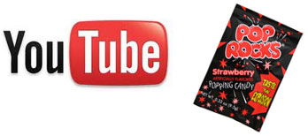 YouTube is pop rocks