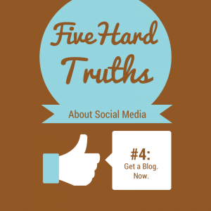 Social Media Marketing and Your Business - Five hard Truths Series, 4 of 5