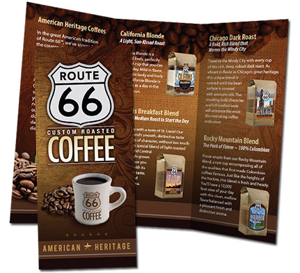 Route 66 Brochure Design